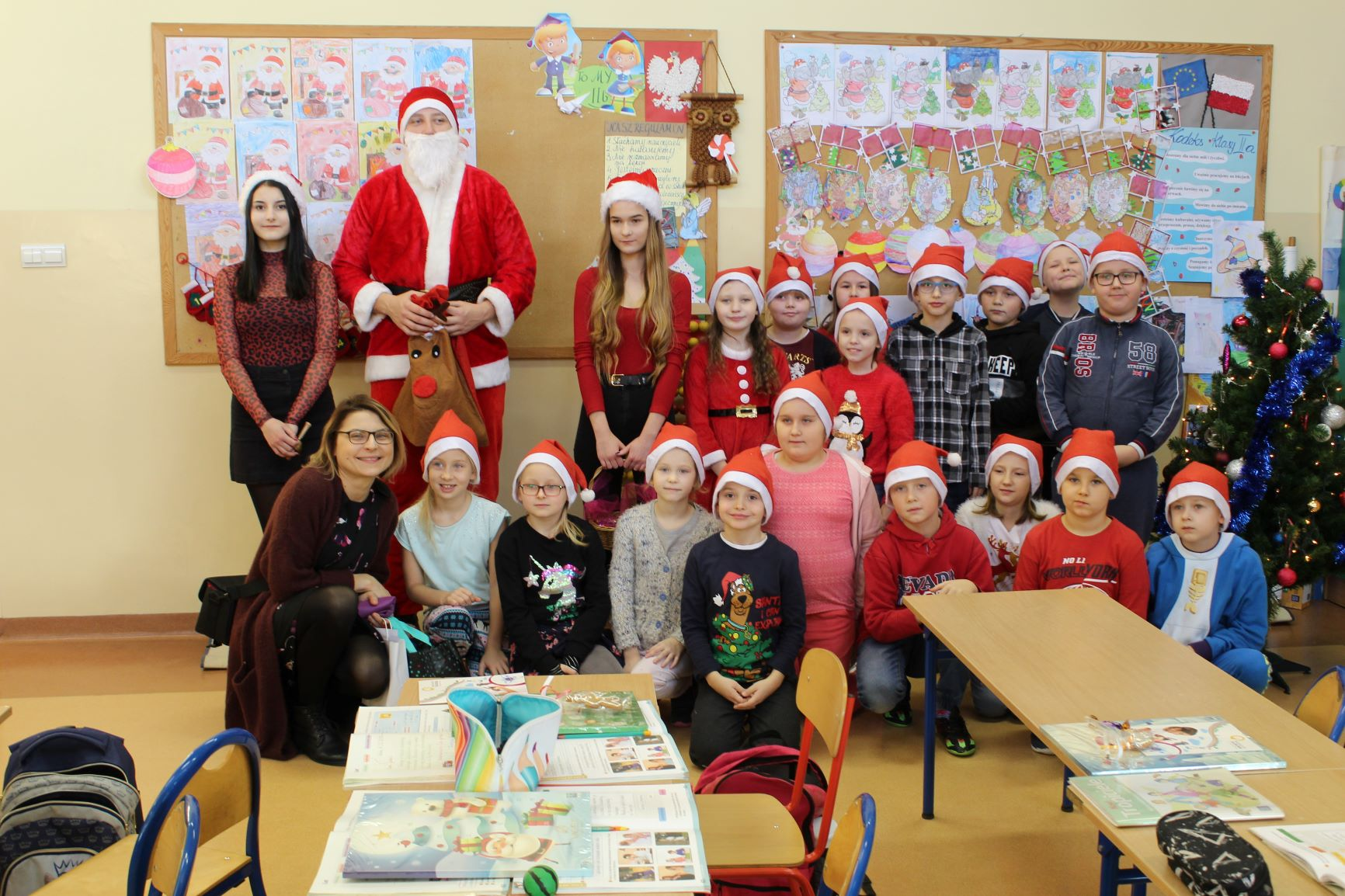 Mikołaje z Kilińskiego odwiedziły dzieci
